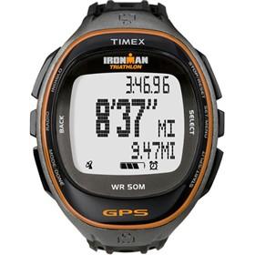 timex run trainer gps watch only black orange