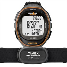 View All timex run trainer gps watch hrm black orange