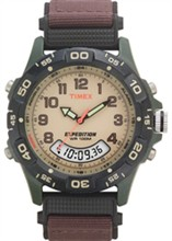 Timex Analog  timex expedition resin combo