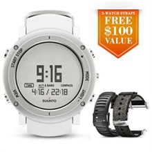 Suunto Hiking Watches suunto core alu white