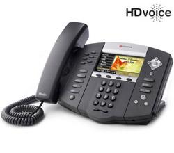 Polycom 6 Line SIP VOIP Phones polycom 2200 12670 025
