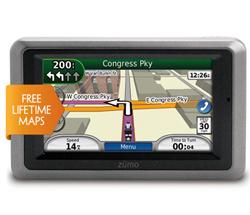 Motorcycle GPS garmin zumo660lm