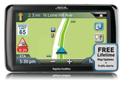 Magellan 7 Inches GPS magellan roadmate commercial 9270t lm