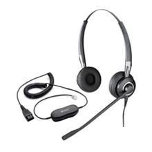Jabra GN Netcom Stereo Headsets (2 Ears)  jabra biz 2425 duo nc with gn1200