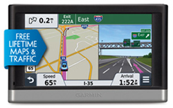 Garmin GPS with Lifetime Maps and Traffic Updates garmin nuvi2557lmt