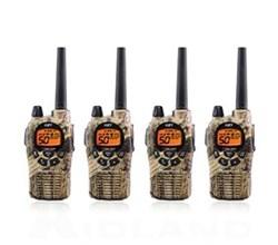 4 Radios  midland gxt1050vp4 4 pk