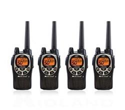 4 Radios  midland gxt1000vp4 4 pk