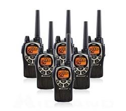 6 Radios  midland gxt1000vp4 6 pk