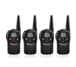 4 Radios  midland lxt118 4 pk