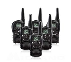 6 Radios  midland lxt118 6 pk