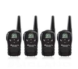 4 Radios  midland lxt118vp 4 pk