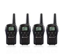 4 Radios  midland lxt500vp3 4 pk