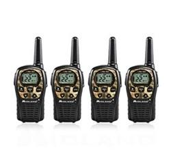 4 Radios  midland lxt535vp3 4 pk