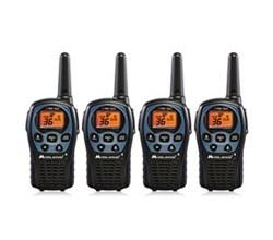 4 Radios  midland lxt560vp3 4 pk