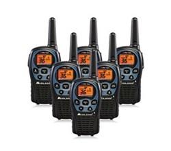 6 Radios  midland lxt560vp3 6 pk