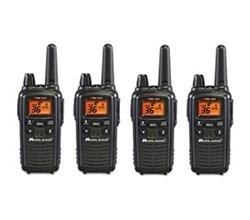 4 Radios  midland lxt600vp3 4 pk