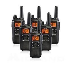 6 Radios  midland lxt600vp3 6 pk