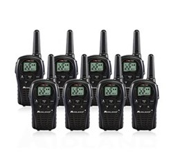 8 Radios  midland lxt500vp3