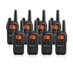 8 Radios  midland lxt600vp3