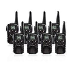8 Radios  midland lxt118 8 pk