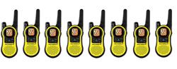 8 Radios motorola mh230r