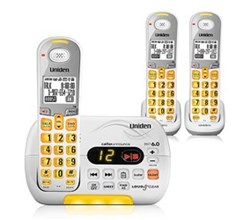 Three Handset Phones uniden d 3097 3 r