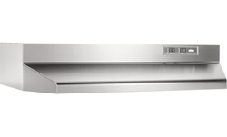 Broan 24inch Range Hoods broan 420000 series stainless steel