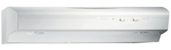 Broan White Range Hoods broan qs136ww