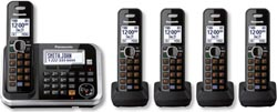 Panasonic DECT 6 Cordless Phones panasonic kx tg6845b