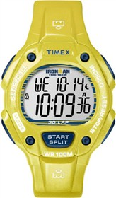 timex ironman 30lap fullsize glimmer yellow