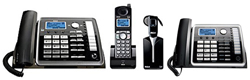 General Electric RCA 5.8GHz Single Line Cordless Phones rca 25270re3 25260 bundle