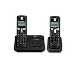 General Electric RCA DECT 6 Cordless Phones ge rca 2101 2bkga