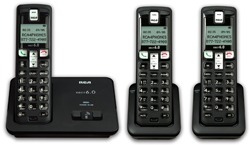 General Electric RCA DECT 6 Cordless Phones ge rca 2101 3bkga