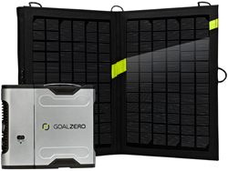 Power Pack Kits goal zero sherpa 50 solar recharger w 110 inverter