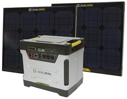 Heavy Duty Solar Kits goal zero yet 1250 solar generator kit