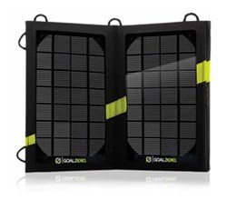Compact Solar Panels goal zero nomad 7m
