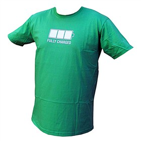 petzl fully charged t shirt small