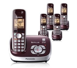 Cordless Phones panasonic kx tg6575r r