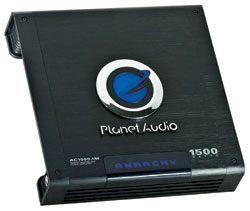 Planet Audio Mosfet Monoblock Power Amplifiers planet audio ac1500.1m