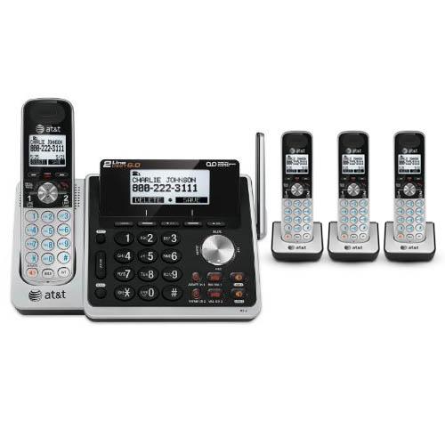 At&t 4 Handset Cordless Phone (2 Line) 4 Handset Cordless Phone (2 Line) at Sears.com