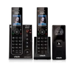VTech 2 Handsets Wall Phones   is7121 2