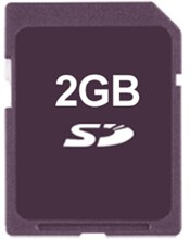 Humminbird SD Cards no brand 2gb sd