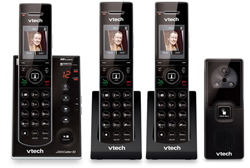 VTech three handset phones VTech is7121 2 and 1 IS7101