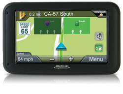 OneTouch Favorites Menu magellan roadmate5220lm