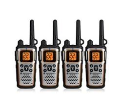 4 Radios motorola mu350r