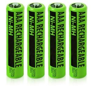 VTech nimh aaa batteries 4 pack