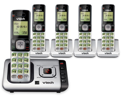 Vtech DECT 6.0 Cordless Phones vtech cs6729 5