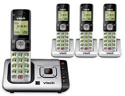Vtech DECT 6.0 Cordless Phones vtech cs6729 4