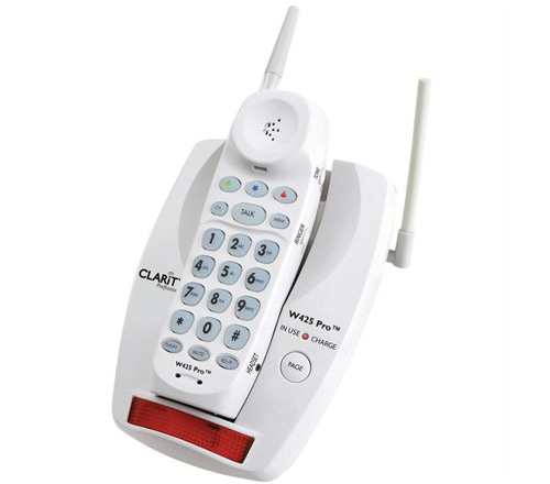 Clarity Clarity W425 Pro 900MHz Amplified Cordless Phone