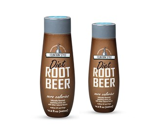 sodastream diet root beer sodamix 2 pack